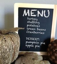 menu side
